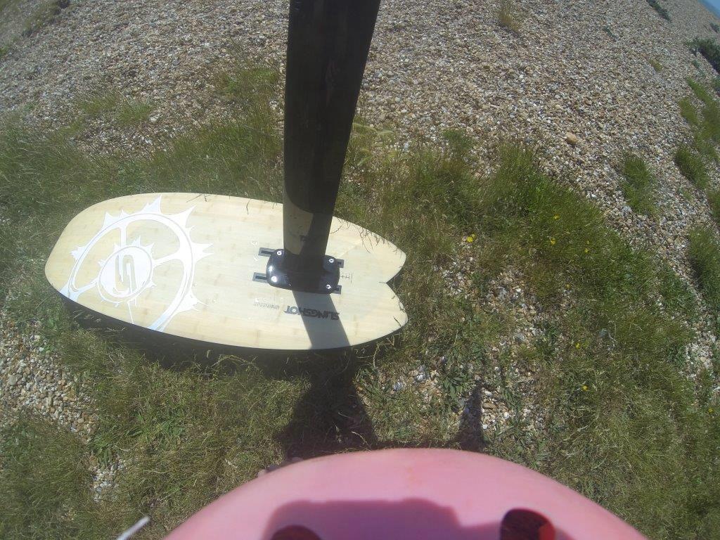 3rd outing on Slingshot Alien Air – Learn to Kite Foil